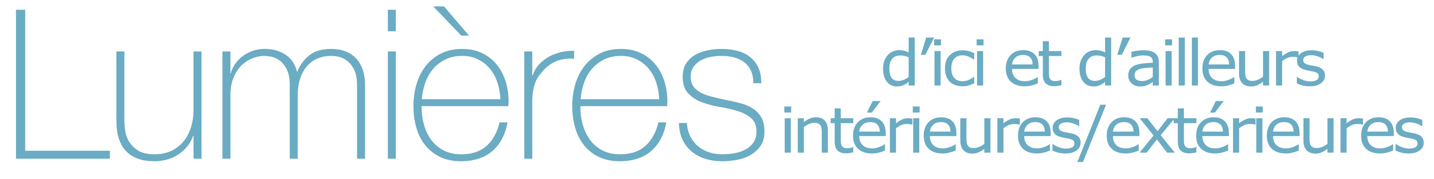 Lumieres d'ici et d'ailleurs Logo