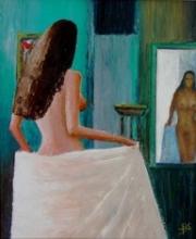 90 Femme au Miroir