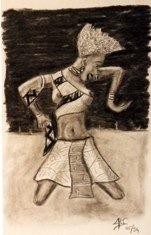 43 Danseuse Africaine 1