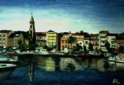 092 Le Port de Sanary - Un jour d'août  à 18 heures