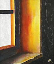 108 Coucher de Soleil près d'une Fenêtre