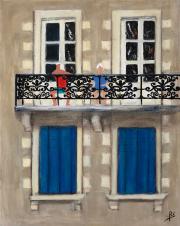 176 Le balcon