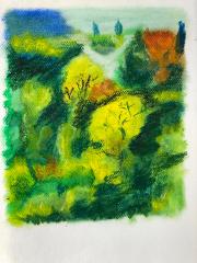 184 Paysage en lumières et couleurs