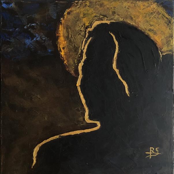 189-Une-silhouette-en-or