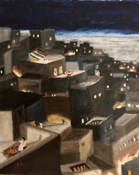 192-La-Casbah-Vue-des-terrasses-en-soirée