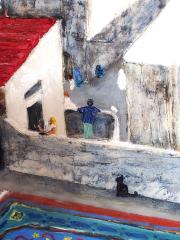 152 La Casbah Vue des Terrasses détail 3
