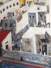 152 La Casbah Vue des Terrasses détail 4